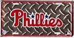 Philadelphia Phillies MLB Diamond Plate License Plate (1 Unit)