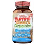 Yummi Bears Organics Multi-Vitamin - Organic - Complt - 180 count (1)
