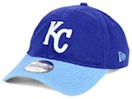 Kansas City Royals MLB New Era 9Twenty Core Classic Adjustable Hat (1 Unit)