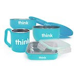 Thinkbaby  The Complete BPA Free Feeding Set - Lt. Blue (1)