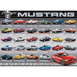 Ford Mustang Evolution Jigsaw Puzzle - 1000 Pieces - Muscle Car Collection (1)