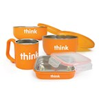 Thinkbaby The Complete BPA Free Feeding Set - Orange (1)