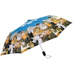 Cat Compact Umbrella - Auto-Open Polyester Canopy And Wind-Resistant Frame (1)