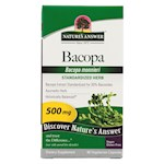 Nature's Answer - Bacopa - 500 mg - 90 Veggie Caps (1)