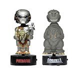 "(Set) Godzilla and Predator 6"" Body Knockers - Little Movie Creep Creatures (2)"