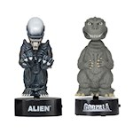 "(Set) Godzilla & Alien 6"" Tall Body Knockers - Little Movie Creep Creatures (2)"