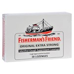 Fisherman's Friend Lozenges - Original Extra Strong - Dsp - 38 ct - 1 Pack (6)