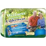 Wellness Absorbent Underwear Case Pack NASA Inspired Liquistay Technology XL (1)
