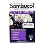 Sambucol - Black Elderberry Cold and Flu Relief - 30 Lozenges (1)
