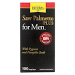 Natural Balance - Saw Palmetto Plus - For Men - 100 Vegetarian Capsules (1)