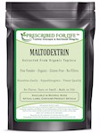 Maltodextrin - Pure Tapioca Quick Dissolving Natural Starch - ING: Organic Powder, 12 oz (12 oz)
