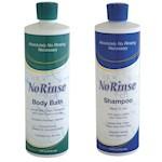 NO RINSE! Shampoo & Body Bath No Water (Set of 2) (2)