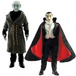 (Set) Mego Nosferatu & Dracula Figures Limited Edition Vampire Collectibles (2)