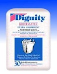 Undergarment Ultrasheild Dignity  Belted One Size Fits Most Disposable Moderate Absorbency (30 / Pack)