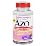 Azo Cranberry Gummies - 40 Count (1)