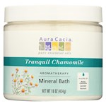 Aura Cacia - Aromatherapy Mineral Bath Tranquility Chamomile - 16 oz (1)