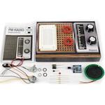 (Set) Haynes Retro Radio Kit - Build Your Own Working FM Receiver w/ Battery (2)