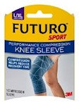 KNEE SLEEVE, COMPRESSION PERFORMANCE GRY LG/XLG (12/BX) (1 Each)