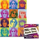 John Lennon Portraits 1000 Piece Jigsaw Puzzle w/ Hanger Preserver Kit (2)