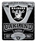 Oakland Raiders NFL Northwest Fleece Throw (1 Unit)