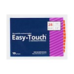 Easy Touch Insulin Syringes 28 Gauge 1cc 1/2 in - 10 ea. (1)