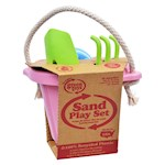 Green Toys Sand Play Set - Pink (1)