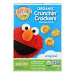 Earth's Best Organic Original Sesame Street Crunchin' Crackers - Pack of 6 - 5.3 oz. (6)