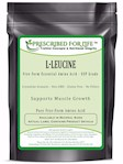 Leucine (L) - Free Form Essential Amino Acid Powder - Whole Body Support, 12 oz (12 oz)