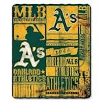 Oakland Athletics MLB Northwest Fleece Throw (1 Unit)