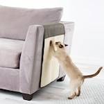 Cat Scratch Mat/Furniture Protector - Durable Polyester with Neutral Tones (1)