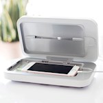 UV Phone Sanitizer - Also Acts As Charger & Includes 2 Additional USB Ports (1)