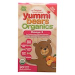 Yummi Bears Organics Omega 3 - Organic - 90 count (1)