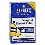 Zarbee's Cough and Throat Relief Drink Mix - Nighttime Supplement - 6 Packets (1)