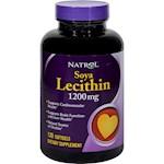 Natrol Soya Lecithin - 1200 mg - 120 Gelcaps (1)