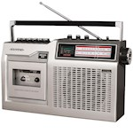 Crosley CT200 Cassette Player & Recorder - AM/FM Radio & Built-In Microphone (1)
