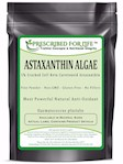 Astaxanthin - Natural Cracked Cell Wall Algae 1% Powder (Haematococcus plurialis), 2 oz
