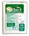 Incontinent Brief Tab Closure X-Small Disposable Heavy Absorbency