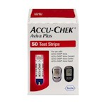 Accu-Chek Aviva Plus Test Strips (Box of 50)