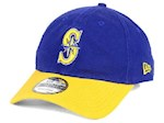 Seattle Mariners MLB New Era 9Twenty Core Classic Adjustable Hat (1 Unit)