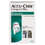 ACCU-CHEK Compact PlusTest Strip (Box of 51)