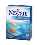 Nexcare Waterproof Bandages 50 Count Box (1 Unit)
