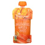 Happy Baby Organic Baby Food - Sweet Potato - Mango - Carrots - Pack of 16 - 4 oz (16)
