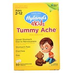 Hylands Homeopathic Tummy Ache - 4 Kids - 50 Quick-Dissolving Tablets (1)
