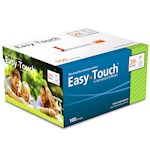 Easy Touch Insulin Syringes 29 Gauge 1cc 1/2 in - 100 ea (1)