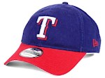 Texas Rangers MLB New Era 9Twenty Core Classic Adjustable Hat (1 Unit)