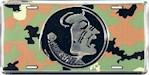Florida State Seminoles NCAA Camo Logo License Plate (1 Unit)