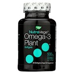 Nature's Way - NutraVege Omega-3 Plant Softgels - 30 Softgels (1)