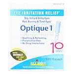 Boiron - Optique 1 Minor Eye Irritation Drops - 10 Doses (1)