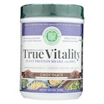 Green Foods True Vitality Plant Protein Shake with DHA Chocolate - 25.2 oz (1)