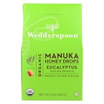 Wedderspoon Drops - Organic - Manuka Honey - Eucalyptus - 4 oz (1)